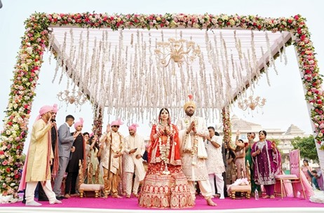 Mpire Weddings Plans & Executes A Beautiful Wedding at the ITC Grand Bharat, Gurgaon