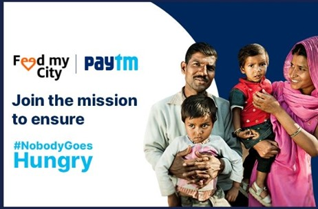Paytm Launches #NobodyGoesHungry Campaign to Feed the Daily Wage Earners in India