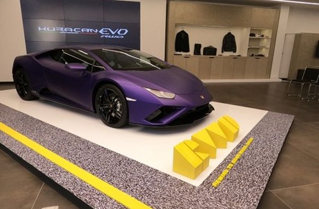 Toast Events Executes the Launch of Lamborghini Huracán EVO RWD in Delhi & Kolkata