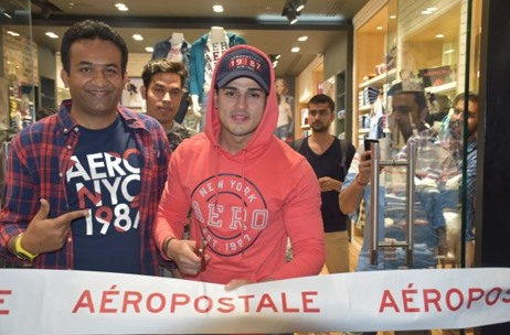 Aeropostale Launches it's New Collection: Ropes in Priyank Sharma to Inaugurate