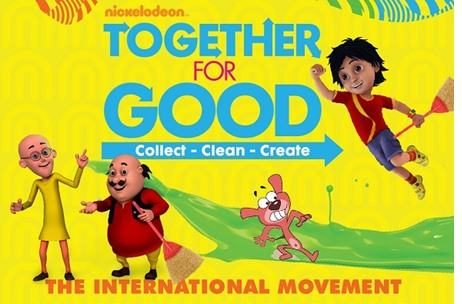 Nickelodeon Launches Together For Good Initiative To Inspire Children