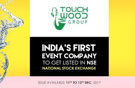 Touchwood Group Becomes India's First Event Company to be Enlisted in NSE