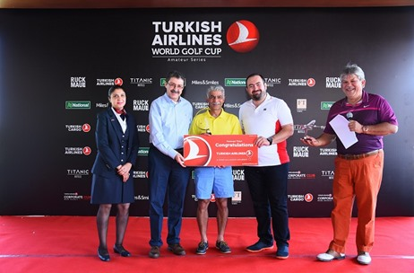 Turkish Airlines Brings 'World Golf Cup' to Mumbai and New Delhi