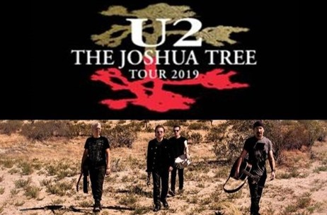 BookMyShow Announces the Debut 'U2: The Joshua Tree' Tour  in India