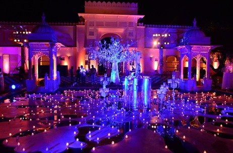 Wedniksha Completes Another Udaipur Wedding with Delightful Decor