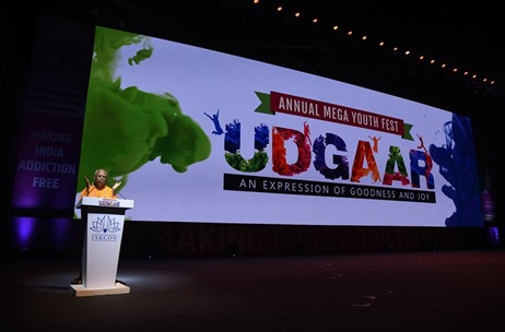 ISKCON Celebrates its Annual Mega Youth Fest 'UDGAAR – An Expression of Goodness and Joy'