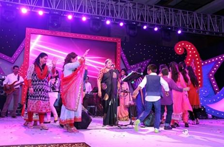 Usha Uthup performs at UltraTech Star Awards in Mumbai