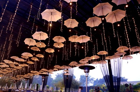 All That You Can Do With Umbrellas In Wedding Decor!