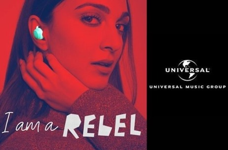 Universal Music India Creates Women's Empowerment Anthem 'I'm A Rebel' for boAT's New Range TRebel