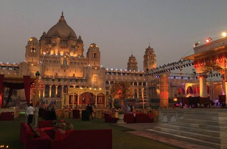 Umaid Bhawan Palace, Jodhpur Sees a Grand Indian Wedding by Q Events By Geeta Samuel
