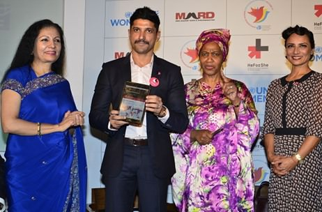 Farhan Akhtar becomes UN Women's first ever goodwill ambassador