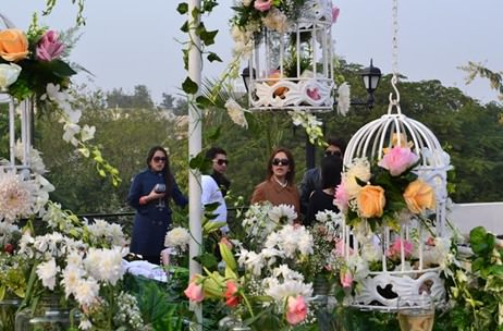 R2S Events creates Victorian Wonderland for Champagne Brunch in Gurgaon