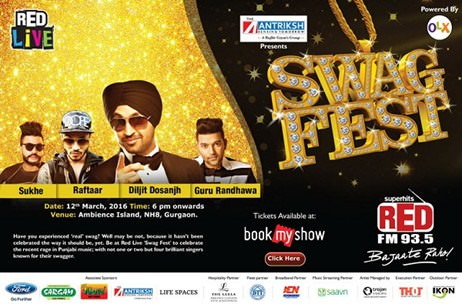 Red FM Celebrates Punjabi Music At Red LIVE Swag Fest In Gurgaon