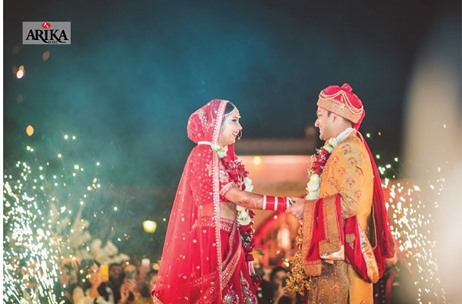 Arika Event Plans & Executes A Beautiful Wedding at the Le Meridian, Jaipur