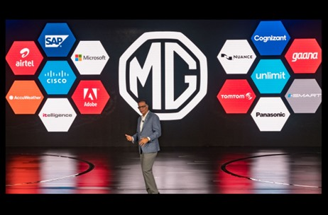 MG Motor Unveils MG Hector, India's first Internet Car - 70 EMG Executes the Launch