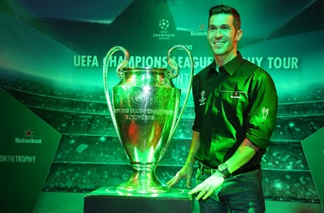 Heineken Brings UEFA Champions League Trophy to India; Tour Managed by Eblitz Creations