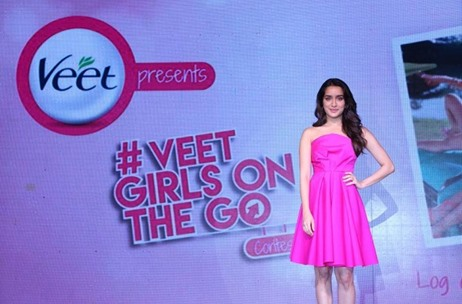In Pictures: #VeetGirlsOnTheGo Campaign Launch by Vibgyor with Shraddha Kapoor