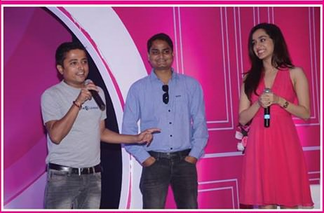 Veet's stakeholders enjoy an evening with Shraddha Kapoor