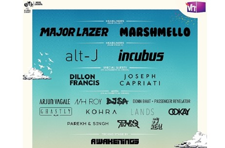 Vh1 Supersonic Introduces a Live Stage to the festival; Marshmello & Incubus Join Lineup