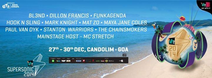 Vh1 Supersonic unveils its line-up for Goa