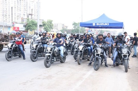 Vibgyor Creates Experiential Bike Ride Activation For Suzuki