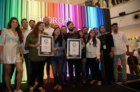 Colorbar Creates Two Guinness World Records In Association With Vibgyor