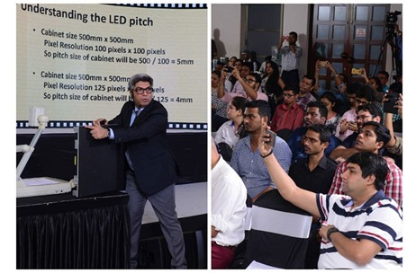 Videowaves Conducts AV Workshop for 100+ Event Professionals from 40 Agencies
