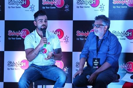 Smaaash appoints Virat Kohli as its Youth Icon