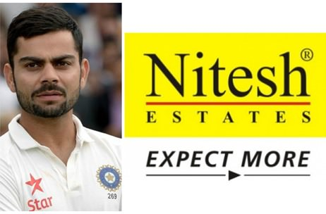 Virat Kohli Signed Up as Brand Ambassador For Nitesh Estates