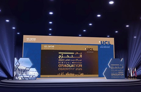 AV Specialist Creative Technology Delivers Real-Time Virtual Graduation Ceremony for UCL Qatar