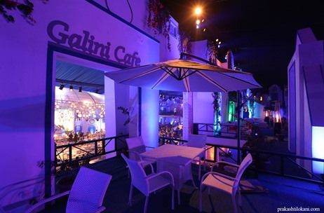 The Island of Santorini Created in Delhi by Q Events by Geeta Samuel
