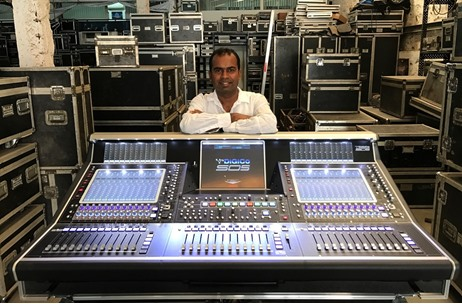 Sound.com Acquires Audio Mixing Console DiGiCo SD5