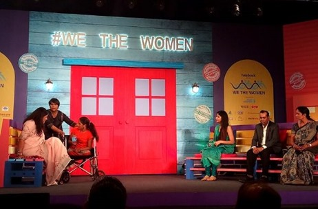 Barkha Dutt Curates the 3rd Edition of 'We The Women' for Facebook & UN Women in Mumbai