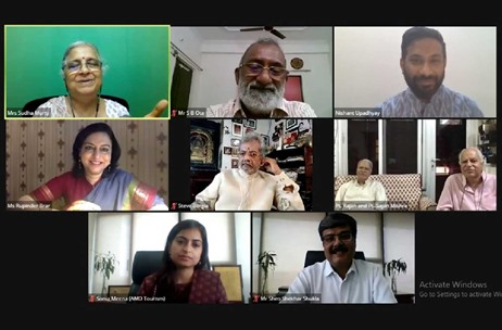 India, MP Tourism Webinar on 'Heritage - Perspectives for the Future'