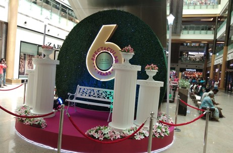 Orion Mall Celebrate Its 6th Year Anniversary With SENSES CREATIONS