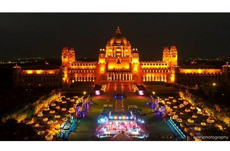 Umaid Bhawan Palace and Mehrangarh Fort Witness A Scintillating Wedding