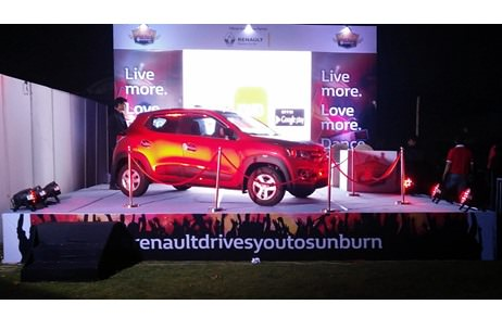In Pictures: Renault's Activation at Sunburn Afrojack-Kolkata; Driven by White Salt Entertainments