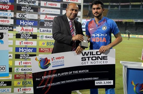 WILD STONE Co-sponsors Tri-Nation Series Nidahas Trophy; Commits $25000 For the 'Emerging Players'