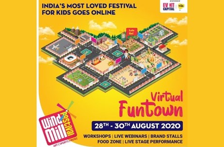 Event Capital and Tribe Asia Announce 'Windmill Festival Virtual Funtown' for Kids in the Lockdown