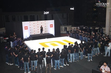 Wizcraft Executes Xiaomi India's First Guinness World Records Achievement