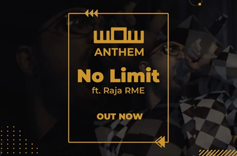 Official Video of WOW Anthem – 'NO LIMIT' Featuring Raja Mukherjee Out Now!