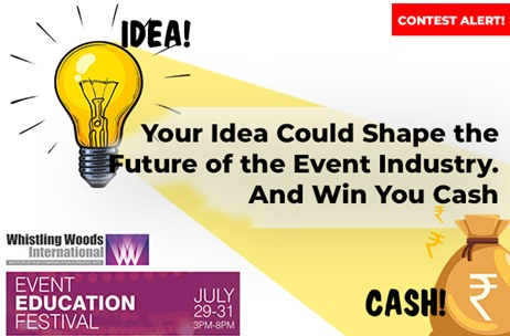 Your Idea Could Shape the Future of the Event Industry. And Win You Cash