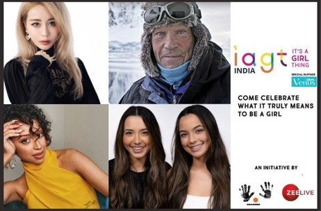 'It's A Girl Thing' Attracts Speakers from Across the Globe; Set for India Debut on October 16-18