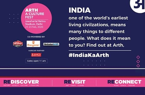 Rediscover, Reconnect and Revisit Indian Culture at  Arth - A Culture Fest by Zee LIVE in Delhi