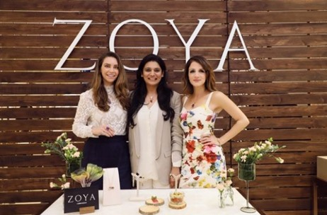Sussanne Khan & Sarah Todd Launch 'Rhapsodie' - An Exquisite Collection By Zoya
