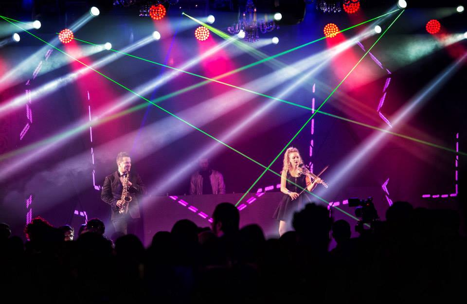 A brand new LED Structure for social events and weddings by One Up Productions