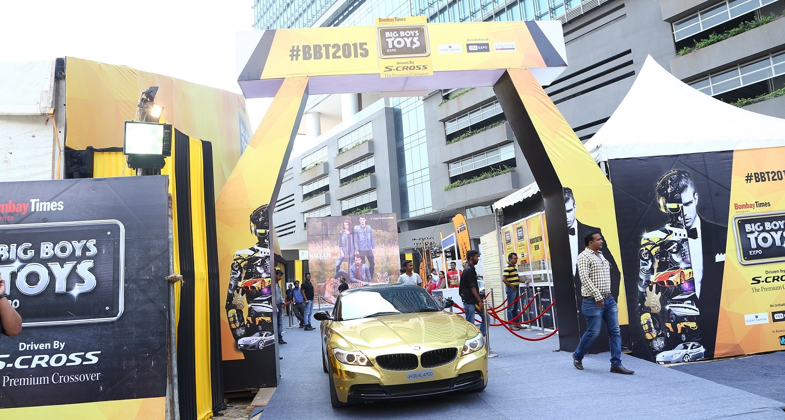 Big Boy Toy Show : Big boys toys expo concludes on a high india news