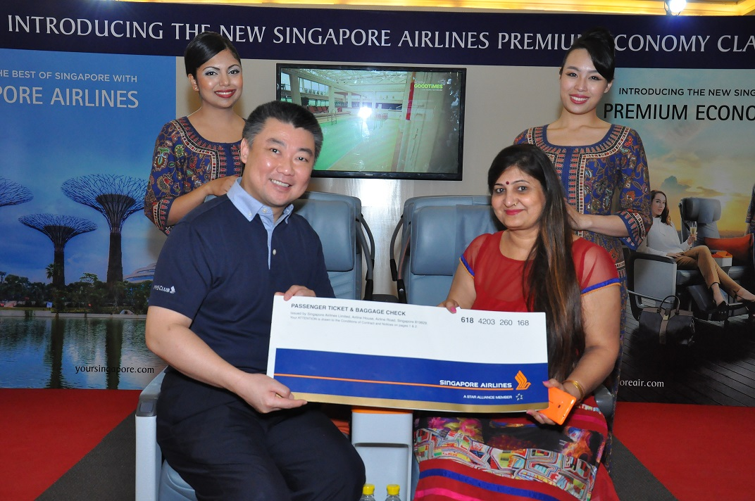 Singapore Airlines chooses experiential to showcase its new Premium Economy seats