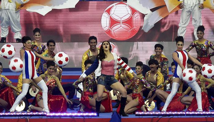 Glimpses from Hero ISL Opening Ceremony produced by Showtime