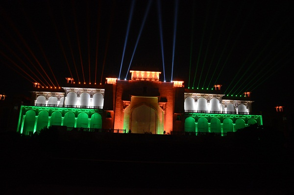 Showtime Showcases Resurgent Rajasthan With 3D Mapping And Aerial Performances